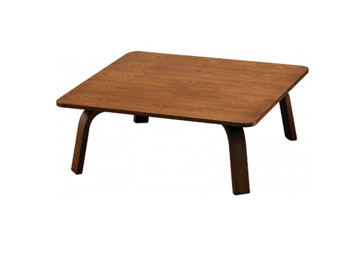 NES SQUARE  COFFEE TABLE- 900(L)  X 900(W) - WALNUT