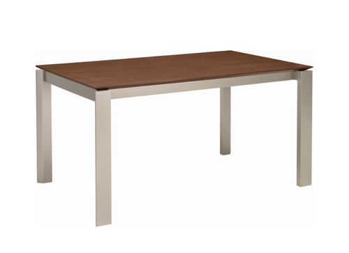 ELWOOD SCANDINAVIAN  DINING TABLE - 1500(L) X 1000(W)  -  COCOA