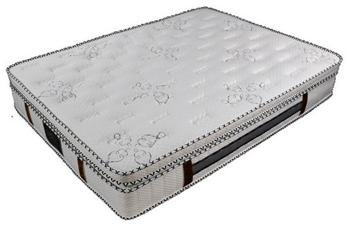 ROYALTY  KING SINGLE POCKET SPRING MATTRESS - (7 ZONE) WITH LATEX - (IN-A-BOX) -MEDIUM