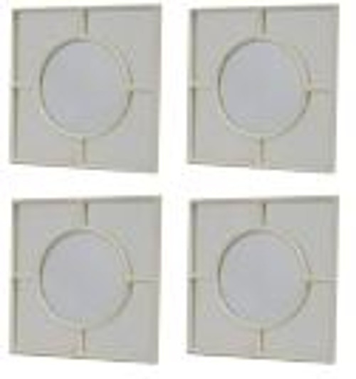 BAHAMAS MIRROR SET OF 4