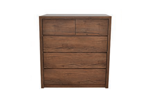 CASEY 4   DRAWERS TALLBOY - 1200(H) X 1000(W) - ANTIQUE OAK OR NAKED CYPRESS