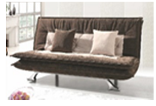 GWEN (MODEL-3026) 3 SEATER FABRIC CLICK CLACK SOFA BED - ASSORTED COLOURS
