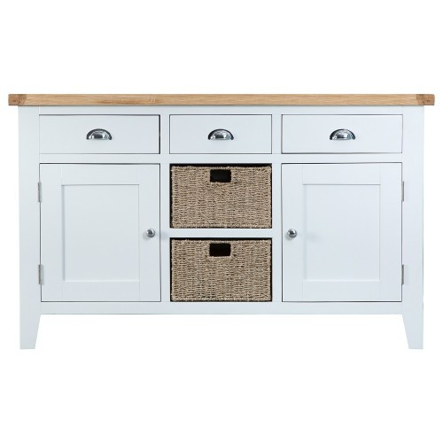 ARBETTA (TT-LS) LARGE 1400(W) BUFFET / SIDEBOARD WITH 2 DOORS - TWO TONE