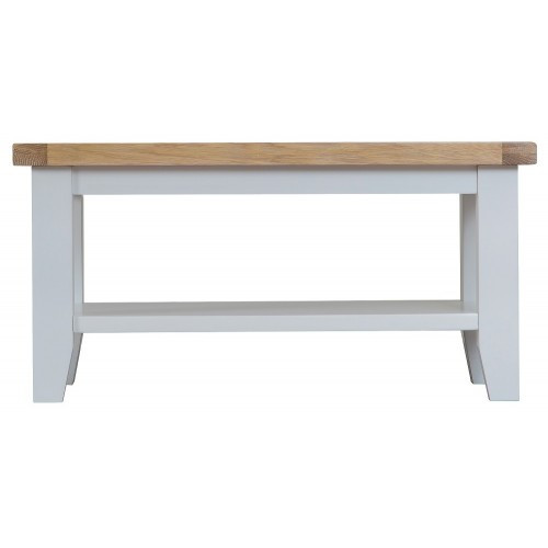 ARBETTA (TT-SCT)  SMALL COFFEE TABLE - 900(W) X 500(D) - TWO TONE