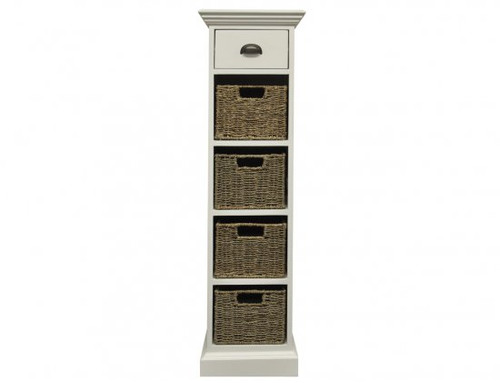 DELAN  (WW-083)  1 DRAWER & 4  BASKET UNIT