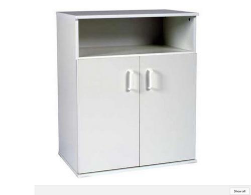 SQUARE EDGE (FC600) 2 DOOR FLOOR CABINET - 900(H) x 600(W) - ASSORTED COLOURS