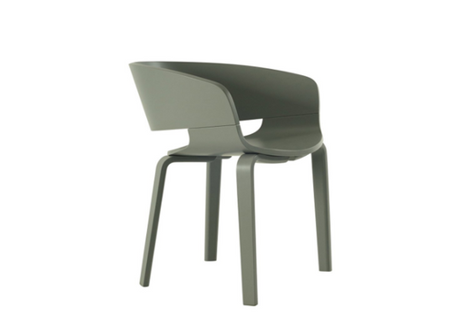 HUELA DINING CHAIR  SEAT: 450(H) -  GREY