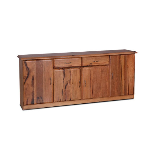 SOPRANO MARRI SIDEBOARD  BUFFET WITH 4 DOORS & 2 DRAWERS -835(H) X 2000(W) - NATURAL FINISH