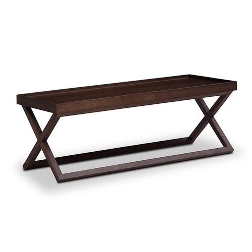 ABASI AJUSTABLE SIDE TABLE 1160(W) - BLACK OAK