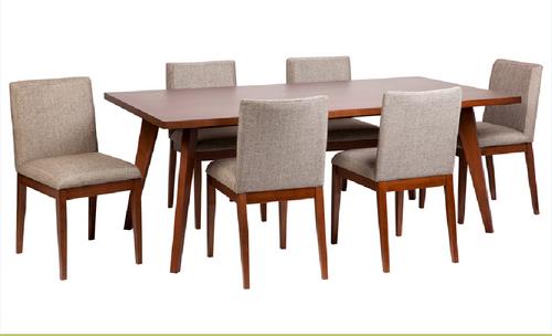 CLARA DINING TABLE ONLY  2000(L) X 1000(W) - WALNUT