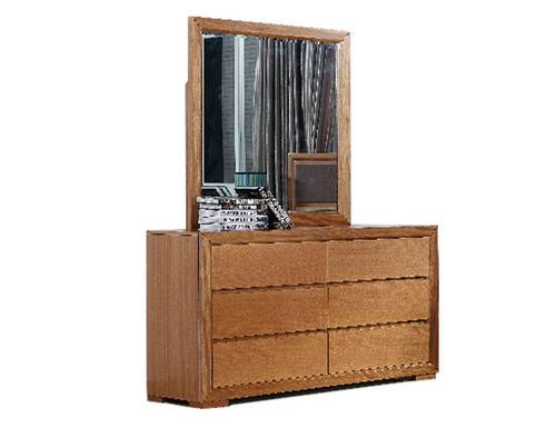 DUAS DRESSER TABLE WITH MIRROR - (MODEL 1-21-4-18-5-25) - MAPLE