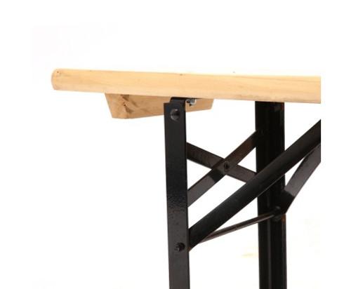 SARIN OUT PIECE OUTDOOR BENCH SET NATURAL BLACK Australias - Sarin table