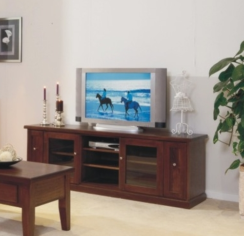 DINH TASSIE OAK LOWLINE TV UNIT - 1900(W) - CHOICE OF COLOURS