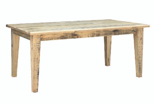 WOODSTOCK SOLID TIMBER DINING  TABLE ONLY  - 1500(L) X  900(W)   - DRIFTWOOD
