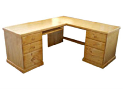 corner office tables. Delighful Office D10 CORNER OFFICE TABLE  6 DRAWERS PRICED STAINED  1800W Throughout Corner Office Tables G