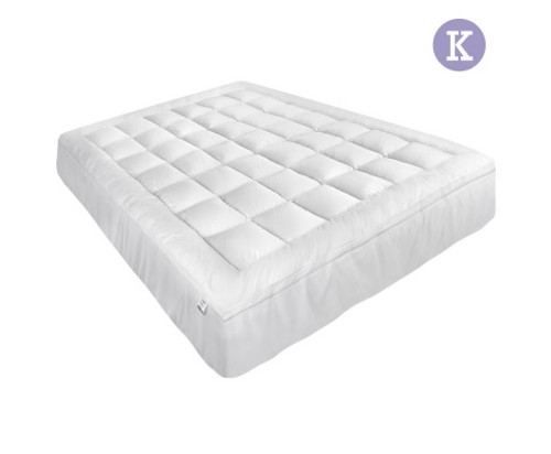 GISELLE  KING SIZE MEMORY  RESISTANCE MATTRESS TOPPER