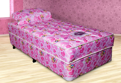 KING SINGLE DISNEY PRINCESS ENSEMBLE (BASE & MATTRESS) - MEDIUM FIRM