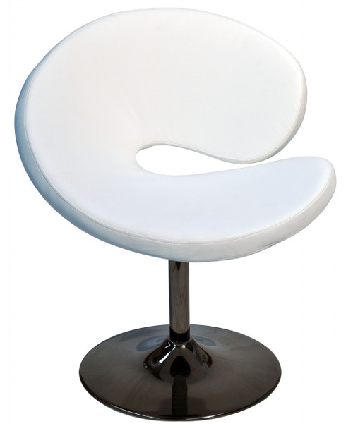 C OCCASSIONAL CHAIR - BLACK OR WHITE