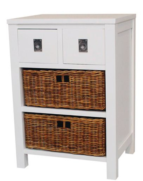 CANDI CANE COLLECTION CHEST OF 2+2  DRAWERS