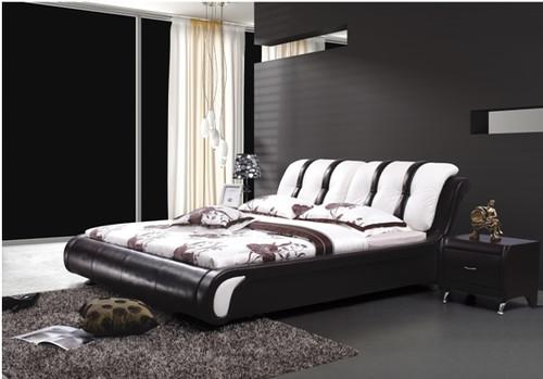 ASPEN KING 3 PIECE BEDSIDE BEDROOM SUITE WITH (#20 BEDSIDES) - LEATHERETTE - ASSORTED COLOURS