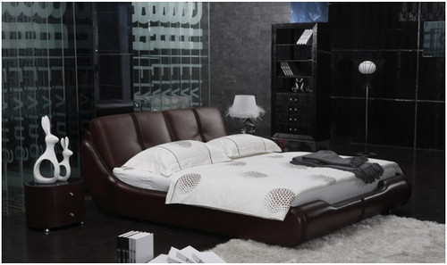 WILLIAM KING 3 PIECE BEDSIDE BEDROOM SUITE WITH (#121 BEDSIDES) - LEATHERETTE - ASSORTED COLOURS
