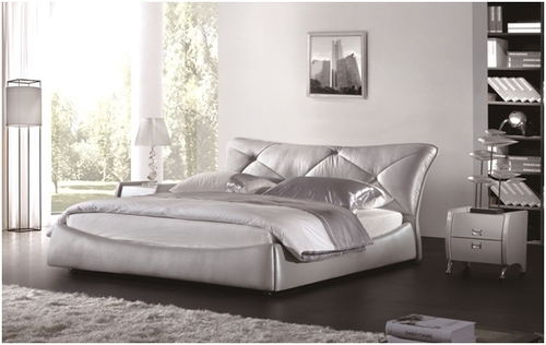 KING FRANCO LEATHERETTE BED (A9909) - ASSORTED COLOURS