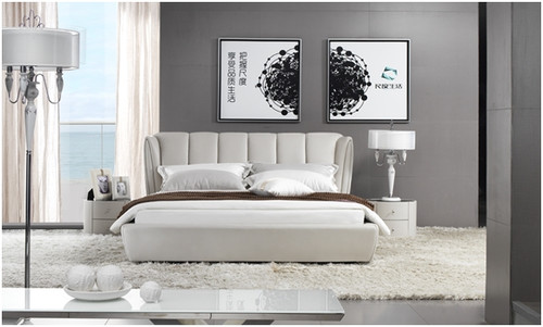 JULIUS KING 3 PIECE BEDSIDE BEDROOM SUITE - LEATHERETTE - ASSORTED COLOURS (WITH OPTIONAL UPGRADE FOR GAS LIFT UNDERBED STORAGE)