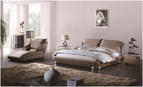 KING COSIMO LEATHERETTE BED (A9931) WITH GAS LIFT UNDERBED STORAGE - ASSORTED COLOURS