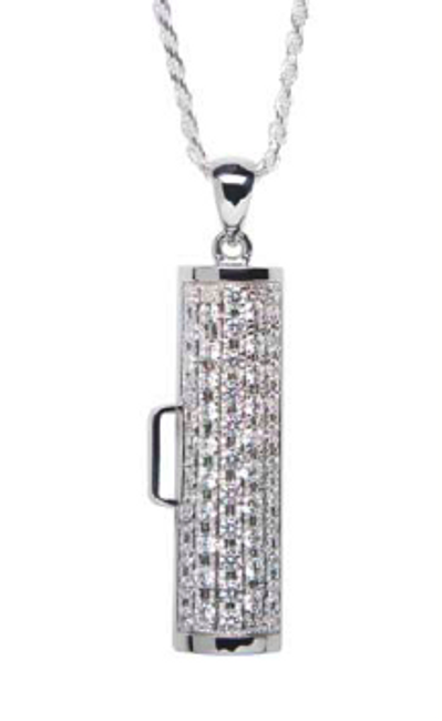 Showtime Pave Pendant -Medium