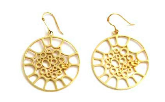 Classic Tenor Gold Hoop Earrings
