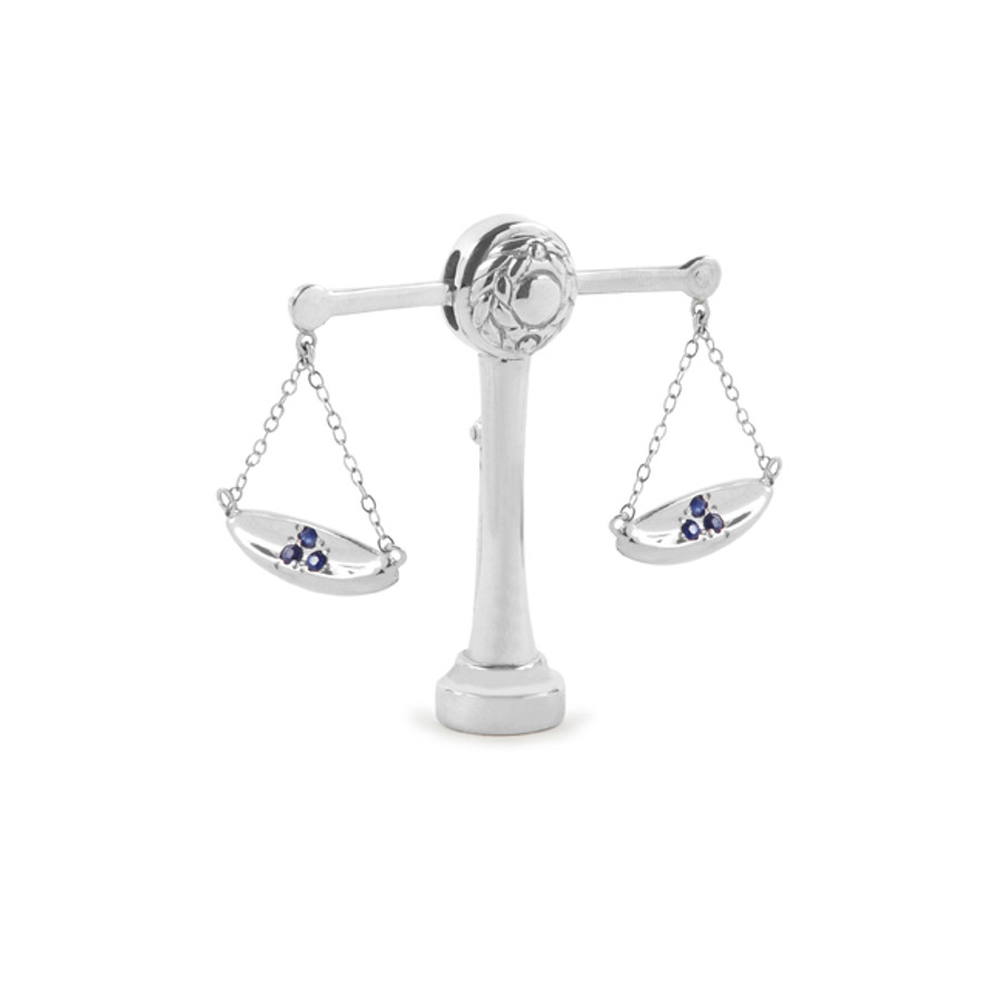 scale of Justice Pin