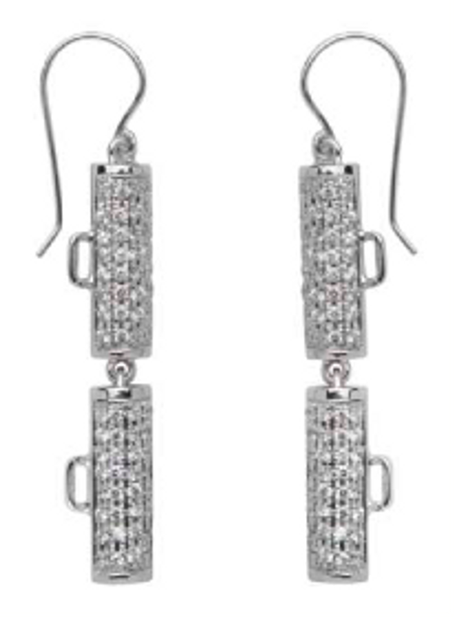 Showtime Pave Earrings
