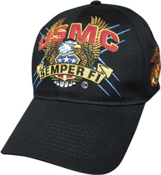 U. S. Marine Corps Military Hat Semper Fi EGA EAGLE SCREAM