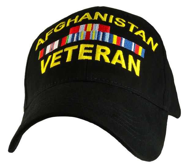 CAP-AFGHANISTAN VETERAN(BLK) Hat