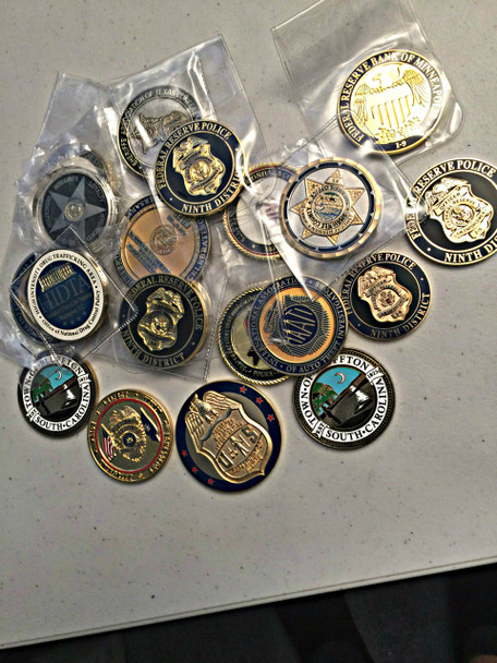 10 PACK OF CHALLENGE COINS