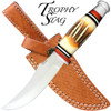 Trophy Stag - Bone Handle Hunting Knife