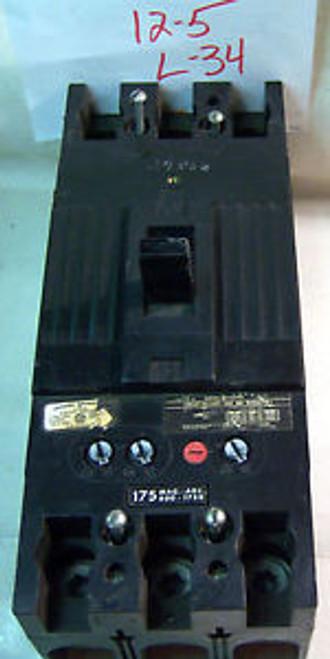 (z 12-5 L34) 1 GE CIRCUIT BREAKER P/N TFJ236175 175A