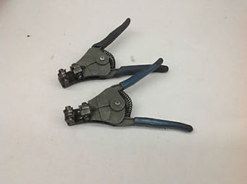 2 - Ideal Stripmaster Wire Stripper Strippers #4 USED TOOLS