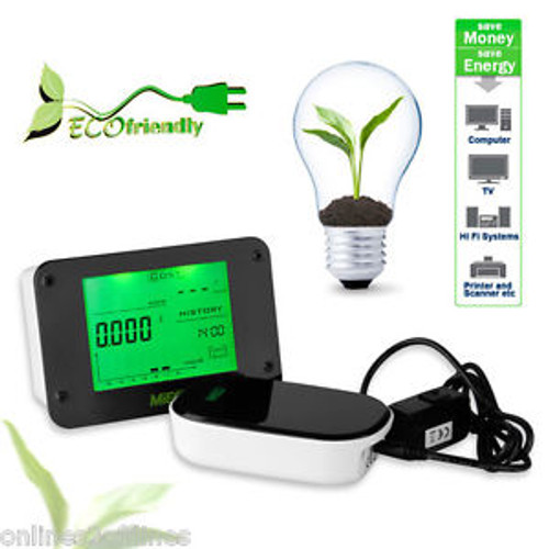 Wireless electricity Energy monitor Home Hause Power Meter Saving Smart Meter