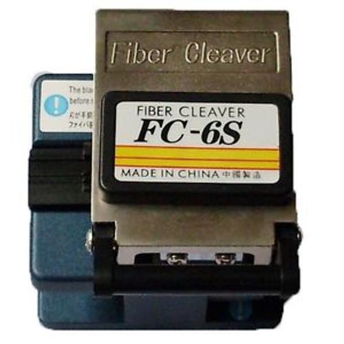Fiber Optic Cleaver FC-6S FTTH Splice Tool Kit Cutter for cut single mode fiber