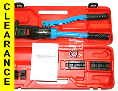 16 TONS CRIMPER HYDRAULIC CRIMPING TOOL 7 AWG - 600 kcmil, 10 to 300 mm