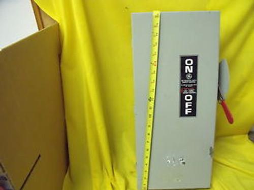#723a General Electric / GE NON Fusible NEMA 1 100 AMP 240 Volt TGN3323 Disconne