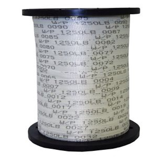 1/2 x 3000 1250 Lb Polyester Mule Tape / Pull Tape