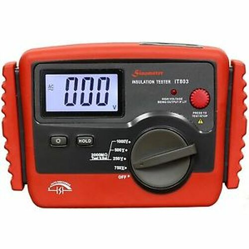Sinometer IT-803 Digital Insulation Tester 2000 MOhm Max