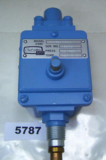 (5787) Amot Controls Pressure Switch 2340-A11R3AAOOA 10 Psi 150 F