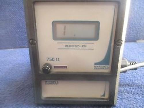 #K390 Myron L Company Megaohms 750 Series II Resistivity, Meter, Model754 II