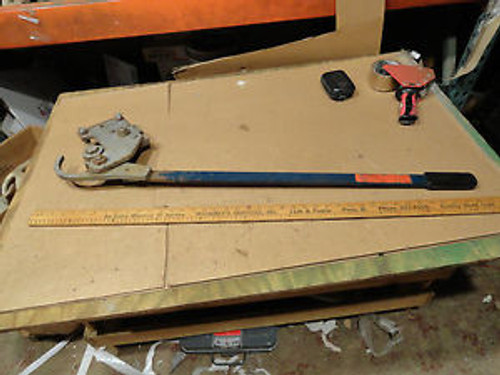 42 Large Peerless Mechanical Chain Cutter Tool. Need Only 1 Cut to Remove Link