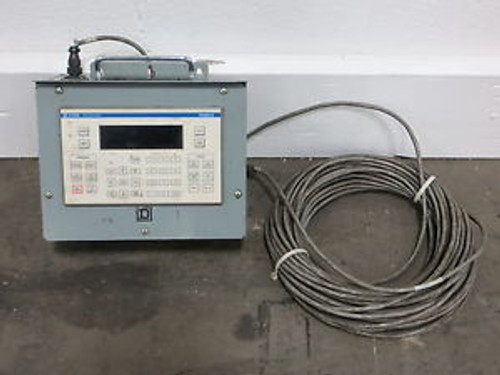Square D C1700 Data Entry Panel - Magelis - Used - Am12657