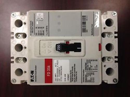 Eaton/Cutler Hammer  Fd3200 3 Pole, 200 Amp, 480 Volt