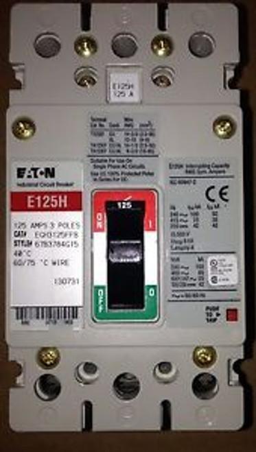 Cutler Hammer Egh3125Ffb - 3P, 125 Amp, 480V  Brand